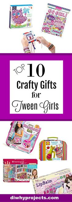 Gift Ideas, Craft Gifts for Tween Girls 2017 Christmas Gift Guide