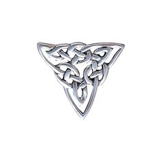 Jewelry Trends Sterling Silver Celtic Trinity Knot Brooch Pin - CU11WJEIWXJ - Brooches & Pins  #jewellrix #Brooches #Pins #jewelry #fashionstyle