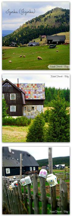 EN/PL --Jizerka the hidden settlement in Izera Mountains. Izera (Jizerka) tajemnicza osada u stóp Bukowca Czech Republic, Calgary, Golf Courses, Spaces, Beauty, Beauty Illustration, Bohemia