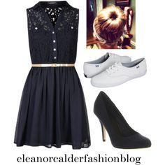 """eleanor dress inspired"" by eleanorcalderfashionblog on Polyvore"