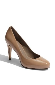 Cole Haan 'Air Violet' Pump.  I own a few Cole Haan shoes, and I find them to be very comfortable.  Gorgeous shoes and some are made with Nike Air cushioning, to make it a shoe that won't hurt your feet.
