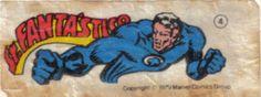 Sr. Fantástico - Essa é uma coleção de 36 figurinhas dos Super-Heróis da Marvel, do chiclete Ping-Pong, lançadas em 1979, as quais colecionei todas e colei na cômoda do quarto, como todo mundo fez.