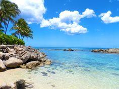 Ko'Olina's natural lagoon- Hawaii