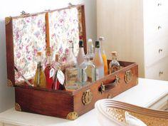 El mueble bar perfecto: ideas simples para decorar este espacio Mueble Bar