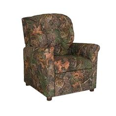 Upholstered in beautiful, stimulating fabric, the Camouflage 4 Button Child Recliner Chair is sure to be a huge hit for your kids. These are truly the most relaxing type of chairs they can possess. With welcoming back design and excellent support, it looks just great in any child's or... more details available at https://furniture.bestselleroutlets.com/children-furniture/chairs-seats/recliners/product-review-for-dozydotes-child-recliner-4-button-camouflage-green-true-tim