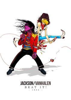 Jackson and Van Halen