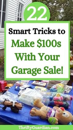 How to Hold a Successful Garage Sale This Summer The best tips and tricks to make money with your garage sale, including rummage sale organization, Garage Sale Pricing, Garage Sale Signs, Yard Sale Signs Funny, Make Money From Home, Way To Make Money, Sell Your Stuff, Things To Sell, Garage Sale Organization, Organizing