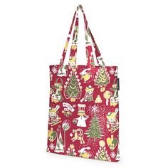 Delightful shopping bag with a Christmas pattern in red�by Tove Jansson. The Finlayson fabric is 100% cotton. Size: 36 x 42 cm.Moomin products by Finlayson are inspired by Tove Jansson's original drawing and are authentic �Moomin Characters� license products.Finlaysonin Joulumuumi-kangaskassi, jossa Tove Janssonin piirt�m� kuosi. Upeat yksityiskohdat ja tyylik�s v�ritys tuovat tyyli� el�m��n. Finlaysonin kangas on 100% puuvillaa. Koko 36 x 42 cm.Finlaysonin Muumi-tuotteet on suunniteltu…