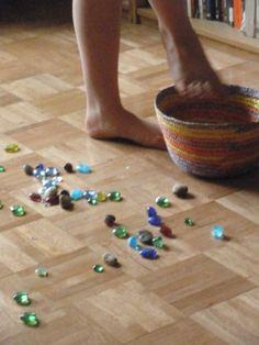 Water bird game…for improving spatial awareness, balance & coordination
