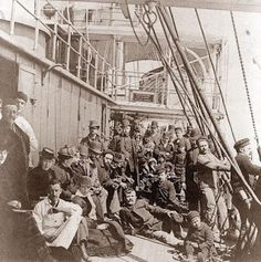 "Do you have immigrant ancestors?  Check out ""The Cruise from Hell"" to see what they might have went through to cross the pond."