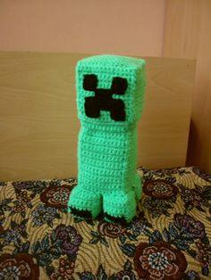 Minecraft Creeper Crochet Toy by GalyaKireva on Etsy, $25.00