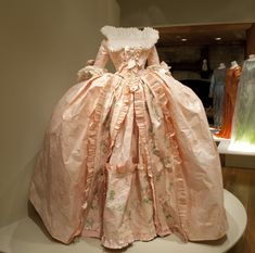 marie antoinette dresses | realized at the occasion of the installation of the Marie Antoinette ...