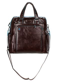 CARTELLA VERTICALE PIQUADRO BLUE SQUARE CA3146B2MO borsa da viaggio, porta pc porta ipad leather