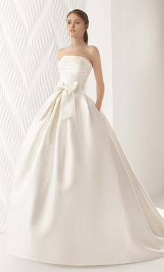 Courtesy of Rosa Clara Wedding Dresses; www.rosaclara.es; Wedding dresses ideas.