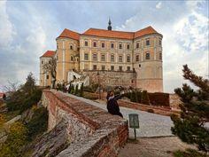 Like in Fairytales - beautiful castle in Mikulov, Czech Republic
