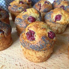 Muffins Extra aux Cerises