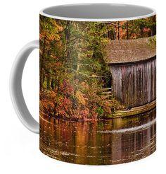 Dummerston or Taft Covered bridge Coffee Mug for Sale by Jeff Folger