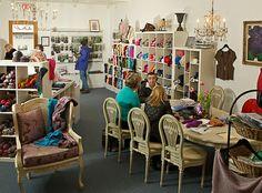 KnittingB yarn shop in Richmond
