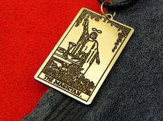 Amulet  Tarot Card The Magician First card