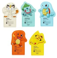 Get a set of five from Amazon for $10.74.Promising review: 'So cute and fun! I really love Tony Moly face masks, and I like the way that these face masks' effects and scents match the Pokémon (Squirtle is hydrating and lotus scent, Bulbasaur is green tea, Pikachu is honey, etc.). These are really nice to do at the end of a long day or on a day when you've really been putting your skin through the wringer. I have pretty reactive skin that is oily and prone to acne (I have an RX for it), and I…