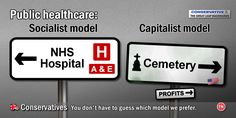 https://flic.kr/p/DWghNK | Healthcare | The Conservatives have spent much of the last 6 years undermining the NHS, trying to create dissatisfaction and chaos to further enable their creeping privatisation of the service.   Considering what has happened and continues to happen in such as the United States (which is the money-making model they favour), with 100,000s of needless deaths and suffering - this is the last thing we want. People denied access to life saving cancer treatment. AIDS…