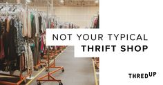 thredUP offers the thrill of thrifting with none of the hassle. With hundreds of thousands of designer styles and zero messy racks in sight, thredUP is the most convenient way to shop like-new women's and kids' styles from brands you love.