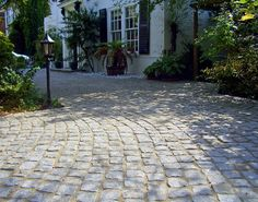 Discover Marshalls range of driveway pavers today. Browse high quality, affordable driveway paving slabs and block paving bricks here Cobbled Driveway, Driveway Paving, Driveway Design, Garden Paving, Block Paving, Paving Slabs, Paving Stones, Concrete Pavers, Driveway Blocks