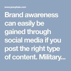 Brand awareness can easily be gained through social media if you post the right type of content. Military spouse and veteran business owners can learn the types of content that perform best under the algorithm on Facebook to increase their reach, relationships, and leads online.