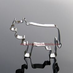 Old Bessie Cow Cookie Cutter- Stainless Steel