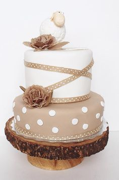 Gorgeous Lamb Cake by CarlasCakes. See more cute ideas on www.carlascakesonline.com