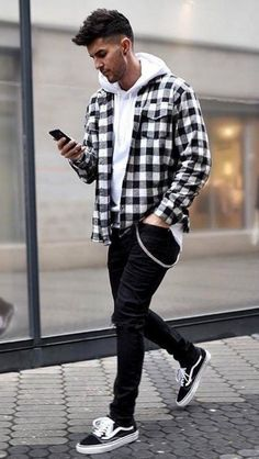 Autumn Colors Male & Female Fashionistas Must-Have – Mode Outfits Mens Fall Outfits, Stylish Mens Outfits, Autumn Casual Outfits, Best Winter Outfits Men, Simple Outfits, Summer Outfits, Vans Outfit Men, Man Outfit, Vans Men