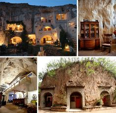 Beautiful and Exciting Cave Homes. From Cappadocia to Missouri: 30 Gorgeous Homes cut from Living Rock.  See more after the Jump.