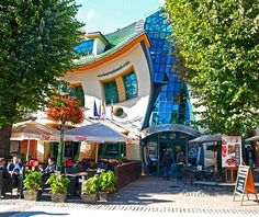 Crooked House, Sopot Poland