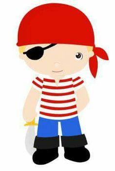 Pirate Theme, Pirate Party, Felt Dolls, Paper Dolls, Pirate Clip Art, Pirate Crafts, Cute Clipart, Cat Costumes, Disney Cartoons