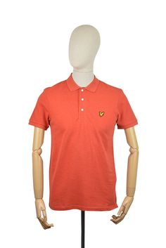 Lyle & Scott Polo Shirt - Flame Red Marl