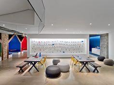 デザインメタルパネル施工事例_壁面装飾「349 ファクトリー」