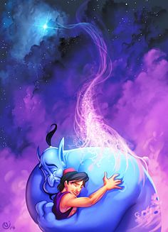 Tribute to Robin Williams and everyne who in one way or another is affected by depression. Based on a screen capture by Walt Disney´s Aladdin. Nicolas Tribute to Robin Williams Walt Disney, Disney Pixar, Disney And Dreamworks, Disney Magic, Disney Art, Disney Characters, Disney Jasmine, Disney Dream, Disney Love