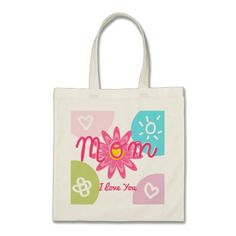 Happy Mother's day  Bright Colorful design Bags