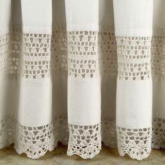 Romance Crochet Bedskirt