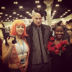 The Fifth element cosplay Leeloo Dallas found my co stars at comikaze 13
