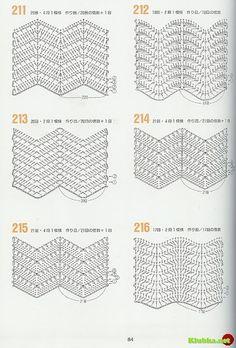 variations of the basic chevron stitch - link is foreign with no pattern instrPontos e Roupas com ponto Zig ZagISSUU - 262 Patrones de crochet by Darling GabellaRipple stitches onlyPart ripple stitch (total 2 parts)images about Crochê pontosChevron Chevrons Au Crochet, Crochet Zig Zag, Crochet Ripple, Crochet Diy, Love Crochet, Crochet Motif, Crochet Designs, Irish Crochet, Crochet Gratis