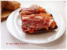 In my little kitchen: Bruschetta de tomate y jamón