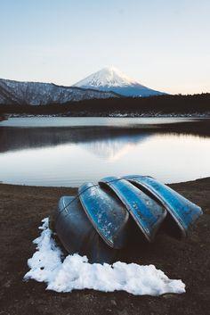 Mt Fuji by Ain Raadik