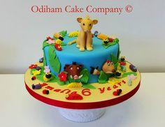 "OCC - ""Hakuna Matata"" Lion king themed chocolate cake. #disney #lionking #simba #cake #pumba"