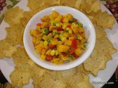 Mango Salsa- A new twist to classic salsa recipe.