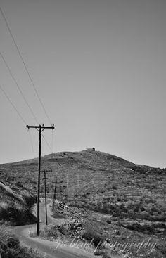 Δρόμος 2 / Road 2 Black White Photos, Black And White, Black Photography, Wind Turbine, Black N White, Black White