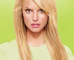 Jessica Simpson long hairstyle