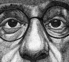 Jacob Everett's Pen Portraits Artwork