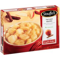 STOUFFER'S Simple Dishes Harvest Apples 12 oz. Box