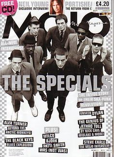 MOJO Magazine - May 2008 - THE SPECIALS cover